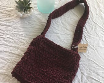 Girls Maroon purse