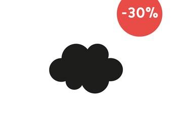 Cloud brooch in plexiglas®