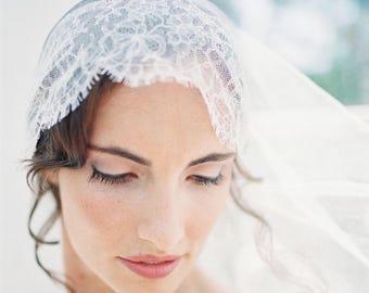 Fabric samples, juliet cap veil, drape veil, chantilly lace, tulle samples