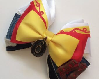 Yoddeling Cowgirl bow - Jessie - Toy Story inspired