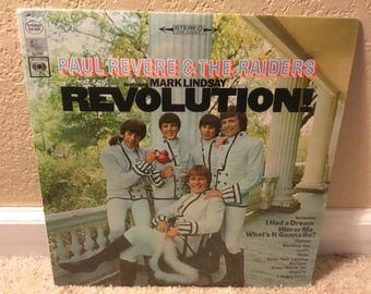SEALED Paul Revere & The Raiders Revolution LP Stereo CS 9521