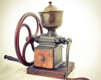 Antique PEUGEOT FRERES C1 Coffee Grinder Mill Cast-Iron Moulin Molinillo Cafe Koffiemolen Kafeemuehle Macinacaffe