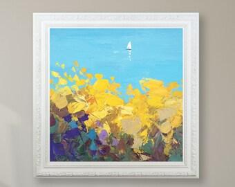 Ocean Art Ocean Painting Seascape Wall Art Ocean Wall Art Seascape Painting Ocean Canvas Art Ocean Theme Wall Art Seascape Canvas Wall Art