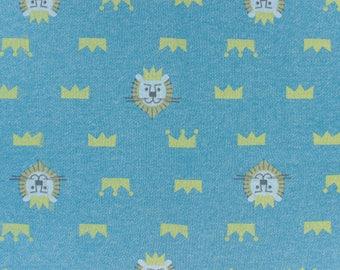 20 cm fabric Sweatshirt blue lion head