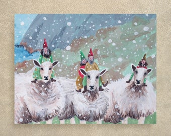 SALE / Mutton Busting card