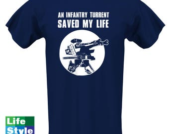 An Infantry Turret Savd My Life, Battlefront 2 Shirt,Battlefront,Rogue One,Geeky Shirt,Star Wars,Kids Shirt, Video Game Clothes,Boys CT-1314
