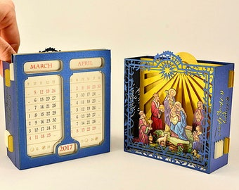3d desk calendar | Etsy