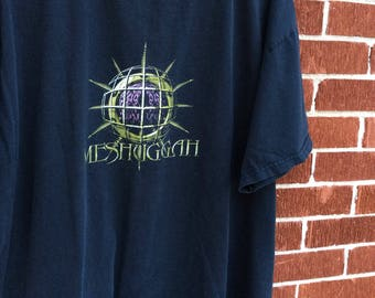 Vintage 1999 Meshuggah tour shirt LARGE