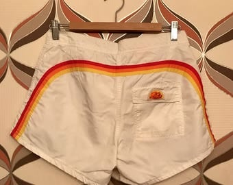 VINTAGE 70's Sundek Board Shorts