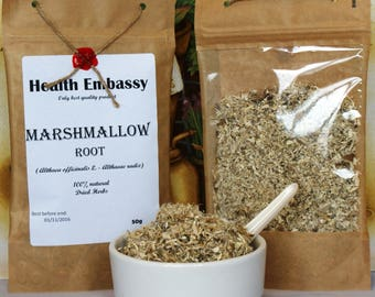 Marshmallow Root  (Althaea officinalis L. - Althaeae radix) - Health Embassy - Organic