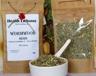 Wormwood Herb (Artemisa Absinthium L. - Herba Absinthii) - Health Embassy - Organic