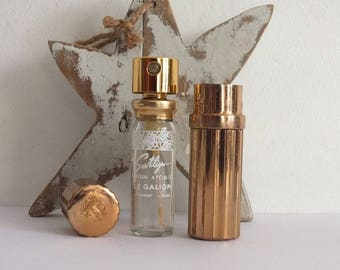 Galleon/vintage perfume/scent spray spell/Pocket/miniature perfume scent Le Galion/french perfume atomizer/refill