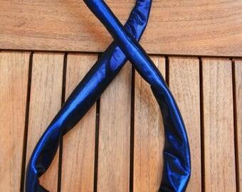 Disco blue wire headband