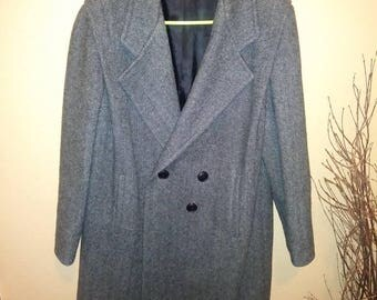 Dani Colby size 16w vintage women's wool coat