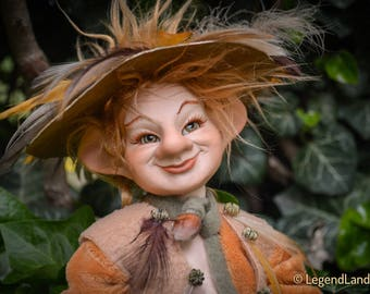 Goblin doll handmade dolls porcelain dolls art doll fantasy dolls porcelain doll male doll male sculpture handmade doll LIMITED EDITION