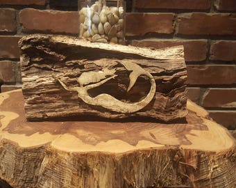 Mermaid Wood Cutout Etsy