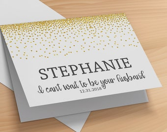 To My Wife on Our Wedding Day Card- Wife Wedding Card- Bride Wedding Greeting Card- To My Bride on Our Wedding Day Card- Wedding Card