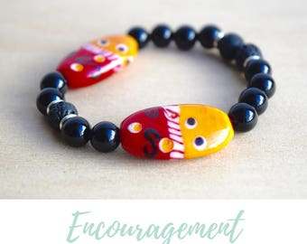 Onyx Bracelet /stress relief gift,xmas gifts for mom,calming bracelet,best selling items,everyday bracelets,balance bracelet,energy bracelet