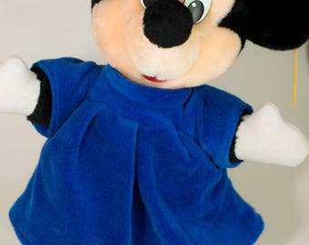 Vintage Disneyland Mickey Mouse plush stuffed animal