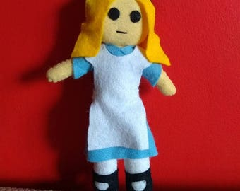 Handmade Plush - Alice in Wonderland