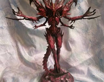 Diablo statue