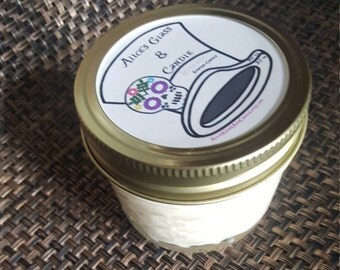 4oz Lavender Candle//100% Soy Wax//Valentines Day//Mothers Day