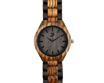 Mens Wooden Watch Engraved, Groomsmen Gift, Wood Watch, Father of the Groom Gift, Best Man Gift, Groom Gift, Engagement Gift, Wedding Gift