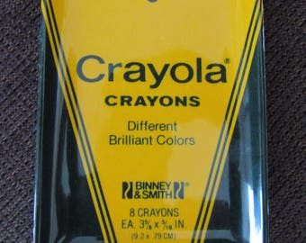 Vintage Crayola Crayons Tray Made In Italy Free Shipping
