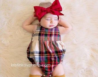 CRIMSON Gorgeous Wrap- headwrap; fabric head wrap; red head wrap; boho; newborn headband; baby headband; toddler headband
