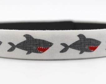 Little Shark Dog Collar, Mini Shark Dog Collar, Shark Dog Collar, Custom Dog Collar, Small Dog Collar, Wedding Dog Collar