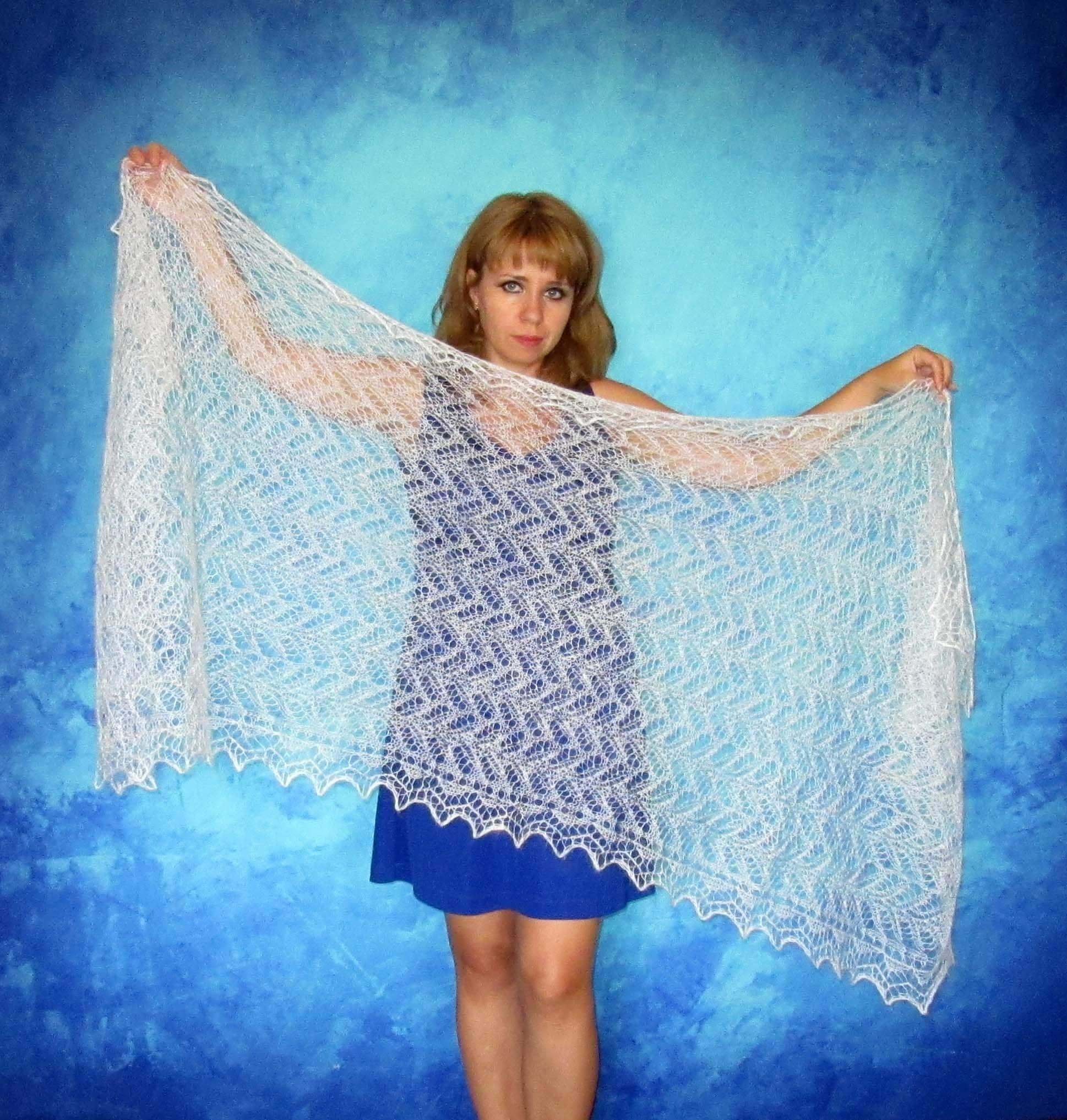 White scarf,Hand knit shawl,Wedding shawl,Warm wrap,Bridal cover up ...