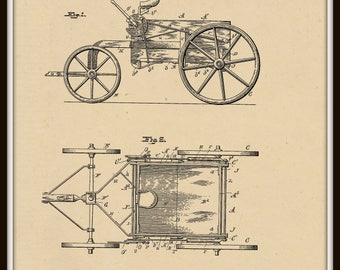 Garbage Wagon Patent #659174 dated October 5, 1900.