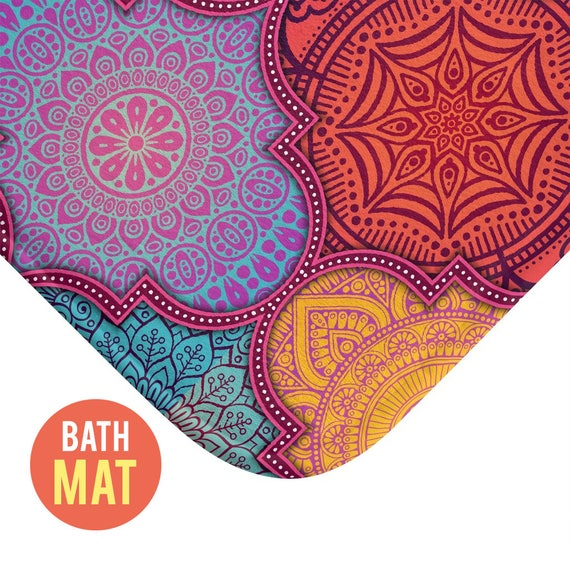 Colorful Bath Mat - Available in Two Sizes