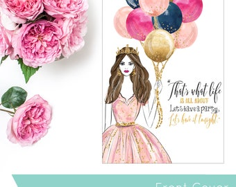 Birthday Queen   COVER   Ringbound Planners
