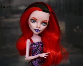 Monster High Custom Repaint Art doll OOAK Operetta