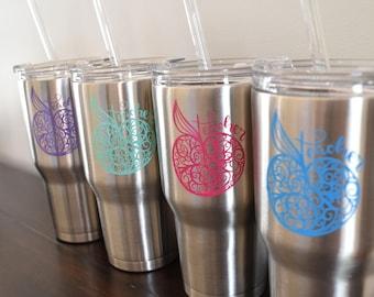 Teacher Gift Tumbler - Teacher gift, apple teacher gift, teacher water bottle, teacher mug, back to school gift, end of school, custom gift