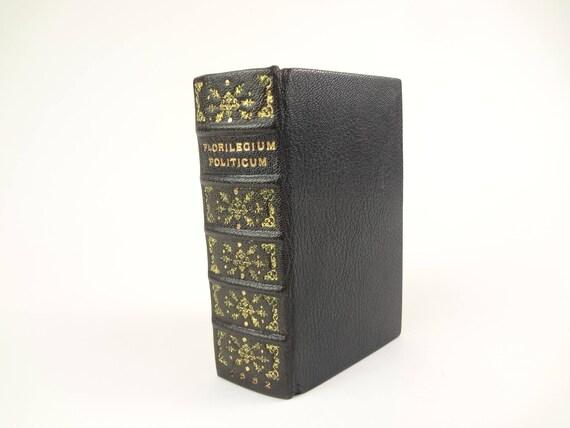 1662 Florilegium Politicum...- Christopher Lehmann. Fine binding. German proverbs.