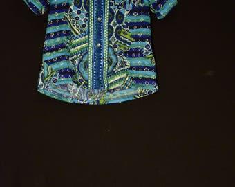 60s,Mens,Psychedelic,hippie shirt, rare,bright wild, aloha shirt,hawaiian shirt,outdoor festival, tiki party,collectors item,made in hawaii