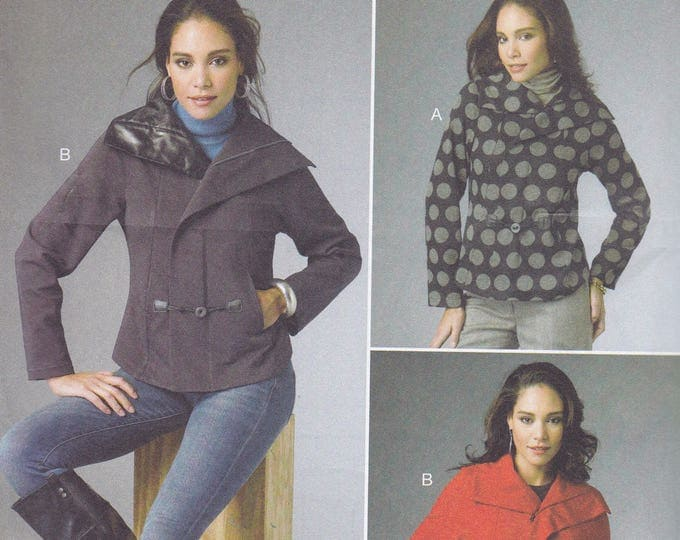 FREE US SHIP Butterick 5994 150th Anniversary Katherine Tilton Jacket  Size 8/16 16/24 Bust 31 32 34 36 38 40 42 44 46 Sewing Pattern