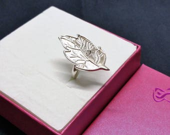 18.3 mm ring 925 Silver sheet vintage rare SR965