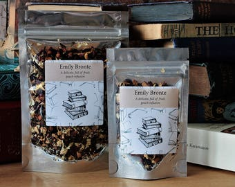 Emily Bronte Inspired Tea - Author - Tea Gift - Literary Gift - Bookish Gift - Author Gift - Wuthering Heights - Tea