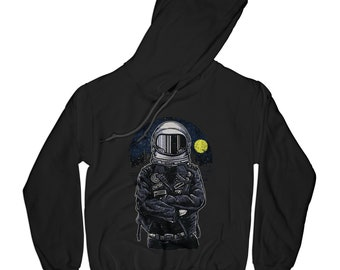 Space hoodie astronaut hoodie punk hoodie hipster pullover traveler hoodie galactic hoodie   AP57