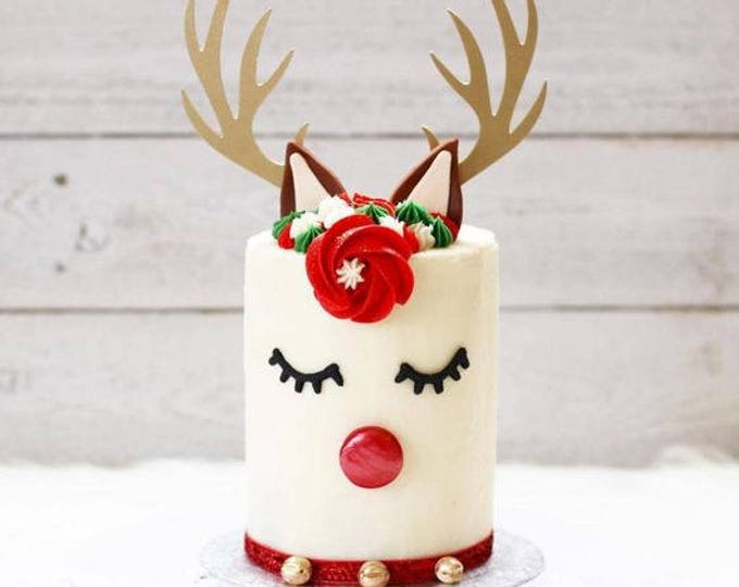 Antlers Cake Topper