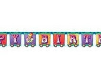 Ringling Brothers Circus ''Big Top'' Happy Birthday Banner