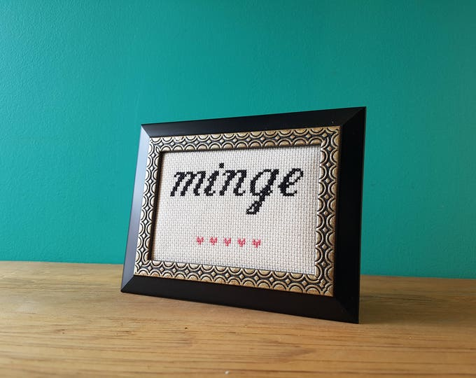 Crassstitches - Minge - Handmade in Toronto