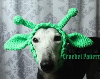 Alien Snood for Dogs Crochet Pattern