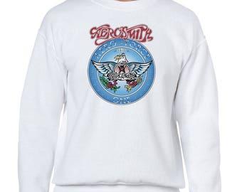 Aerosmith Aero Force One Wayne's World Movie Crewneck Sweatshirt Many Sizes Available