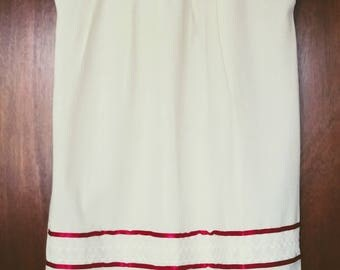 Embroidery mexican Dress, Large white Mexican embroidered dress, Mexican boho dress, Mexican ethnic, mexican clothing, mexican hippie dress