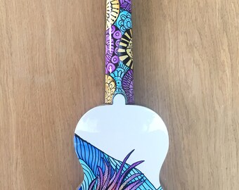 Hand-decorated Soprano Ukulele - FISH
