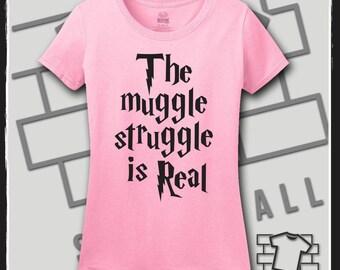 Harry Potter, Harry Potter Shirt, Harry Potter SVG, Harry Potter TShirt, Harry Potter Tank, Harry Potter Items, Muggle Struggle,Muggle shirt
